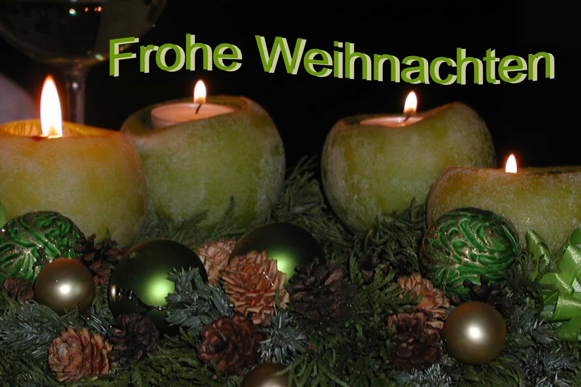 39 Weihnachtskarte Kerze